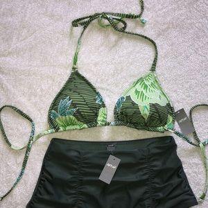 AERIE bikini bundle (top M, bottom S)